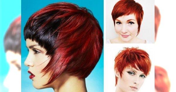 Minikatalog Krótkich Rudych Włosów Dla Ognistych Kobiet