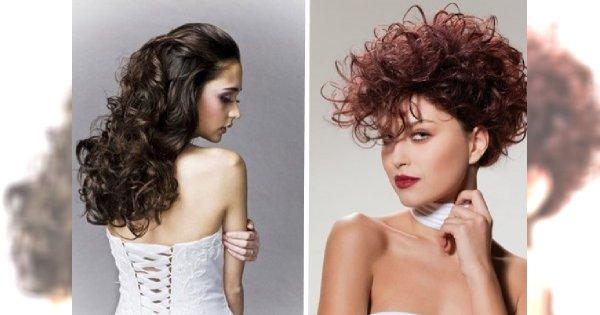 Fryzury z kręconych włosów na sylwestra 2013/14