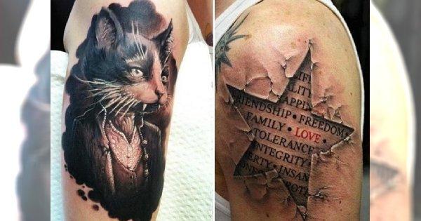 Tatuaże: najlepsze prace z listopada - galeria wzorów!