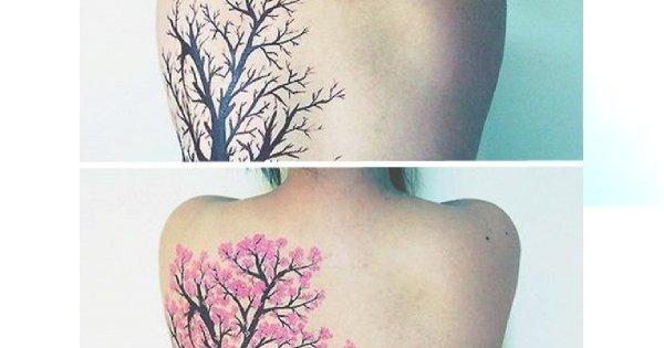 Modne tatuaże damskie - wzory małe i duże