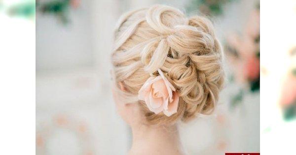 Kwiaty We Włosach Potargał Wiatr Fryzury ślubne Z Kwiatami