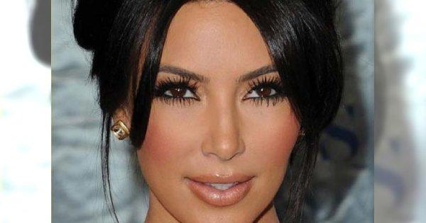 Kim-Kardashian-makeup.... Kim Kardashian