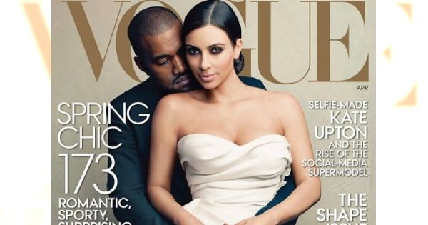 Afera w modzie: Kim Kardashian na okładce Vogue US!