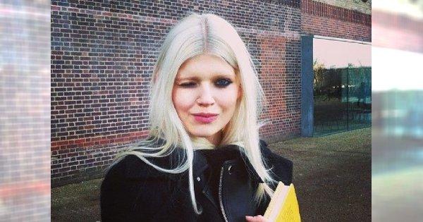 Białowłosa piękność: świat mody u stóp Oli Rudnickiej