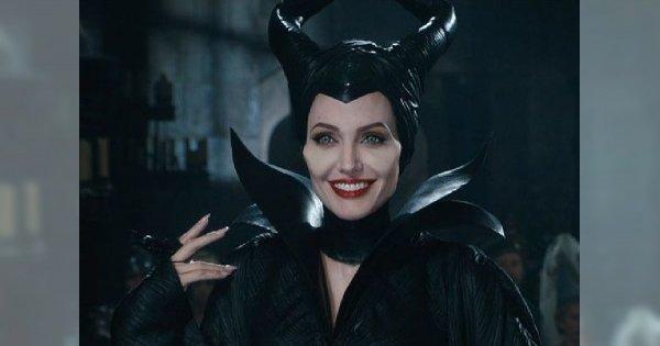 """Przerażająco piękna Angelina Jolie w filmie """"Czarownica"""""""