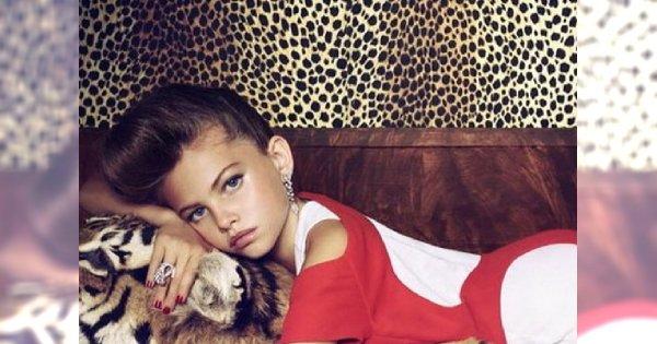(Za) młoda moda, czyli awantura o 10-letnią modelkę
