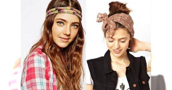 Letnie wariacje z włosami - kolorowe opaski i spinki ozdobą każdej fryzury!