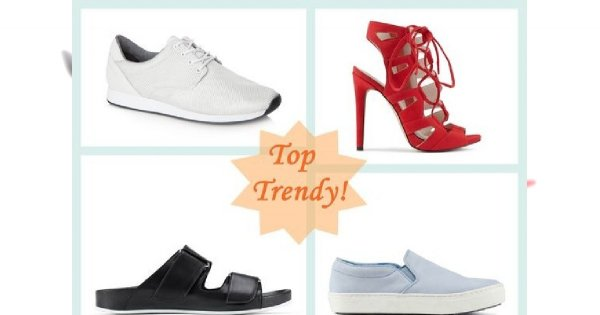 Trendy wiosna/lato 2014: najmodniejsze modele butów