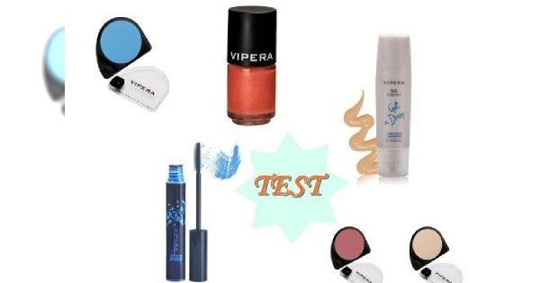 Testujemy: letni makijaż z Vipera Cosmetics