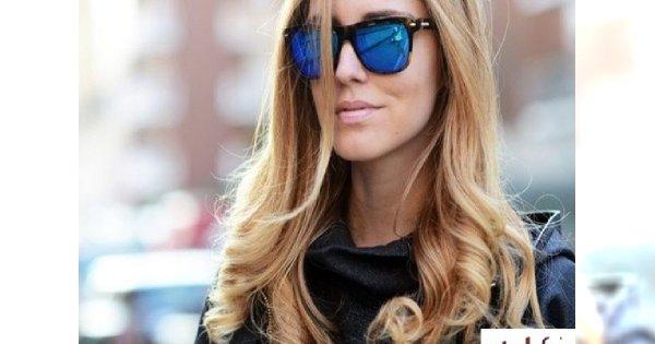 Kolorowe okulary - lustrzanki