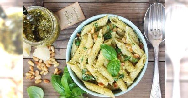 Stylowa Kuchnia Makaron Penne Z Pesto