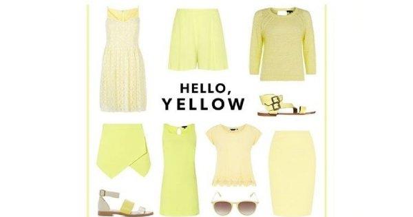 Hello Yellow - cytryna i limonka w kolekcji New Look