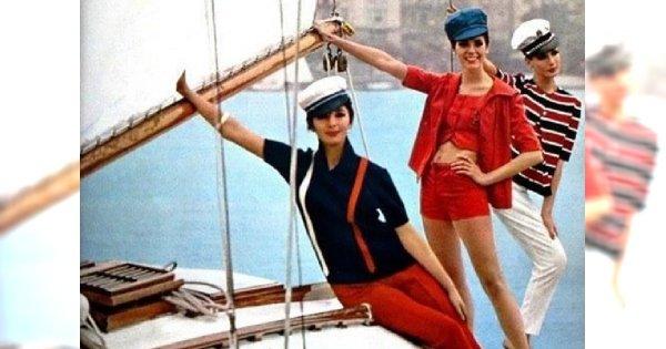Ahoj lato! Ustaw kurs na marynarski styl
