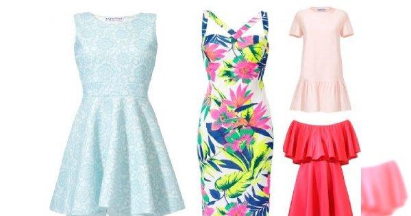 Sukienki na letnie party
