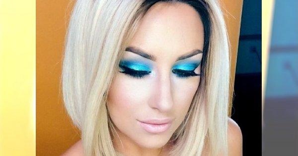 Niebiańskie oko, czyli makijaże w kolorze niebieskim