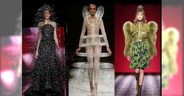 Modny poziom konstrukcji - niecodzienne formy z pokazów haute couture