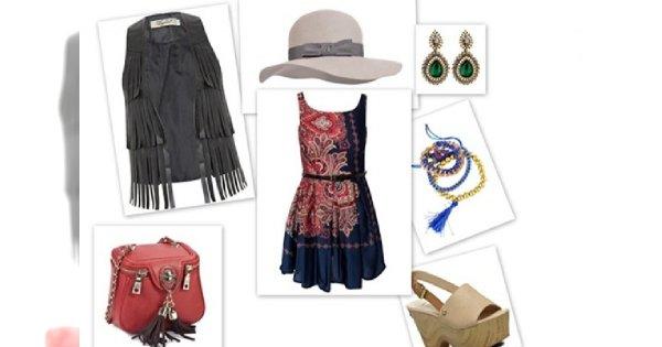 Gipsy queen - 85 modnych ubrań i dodatków w stylu boho chic