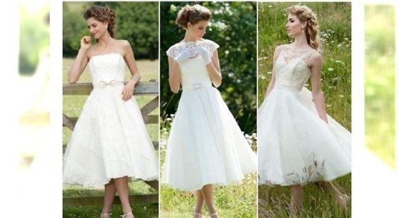 Moda ślubna: wybieramy suknię typu tea-lenght