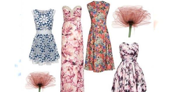Kwintesencja kobiecości - sukienka w kwiaty