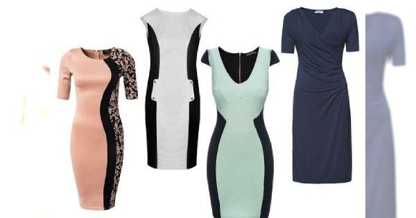 Wyszczuplające sukienki - znajdź swój wymarzony fason!