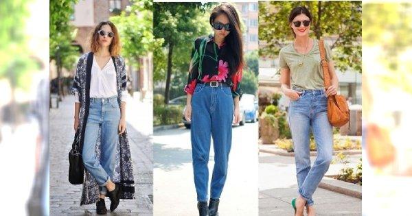 Mom jeans - jak je nosić?