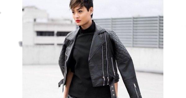 Know how: jak nosić czarną ramoneskę?