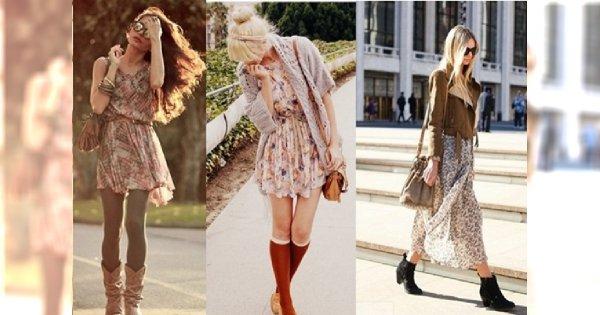 Wprowadzamy letnią sukienkę w jesienny klimat