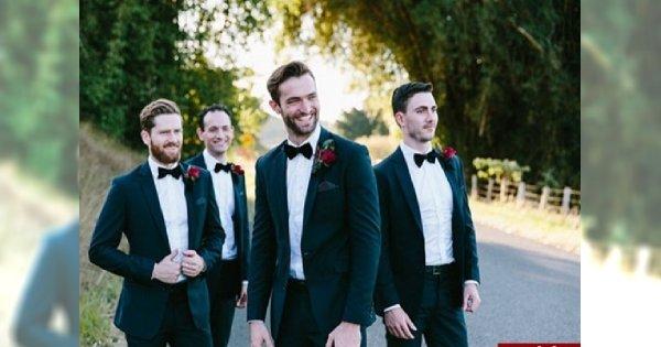 Przegląd męskich stylizacji ślubnych