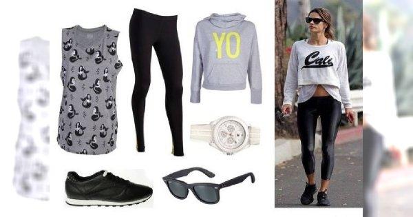 Sportowo stylowo - modny dres