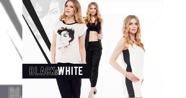 Linia black&white w kolekcji Top Secret
