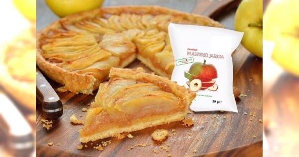 Tarta z jabłkami w stylu fit