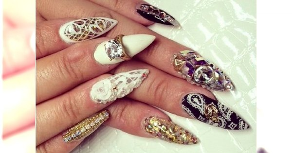 Sztuka manicure: trudne wzorki na paznokcie