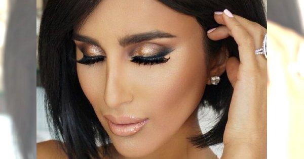 Makijaże w kolorach jesieni