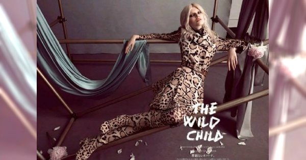 The Wild Chid, czyli dzika Ola Rudnicka w Vogue Japan