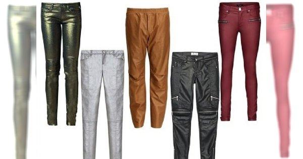 Shopping z Redakcją: skórzane i woskowane spodnie