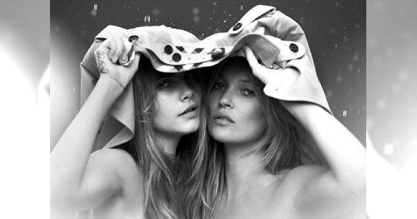 Kate Moss i Cara Delevingne razem w kampanii My Burberry
