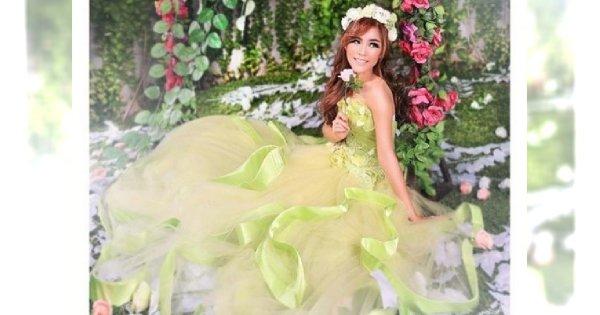 Barwnie do ołtarza, czyli kolorowe suknie ślubne