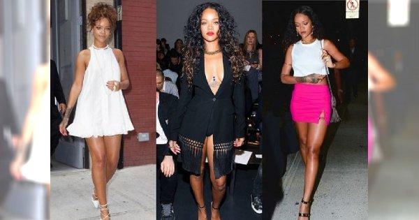 Odważne stylizacje Rihanny na Tygodniu Mody w Nowym Jorku