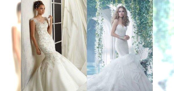 Suknie ślubne typu syrena