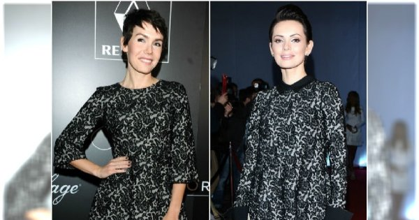Bołądź i Gardias w identycznych sukienkach na jednej imprezie. Która wyglądała lepiej?