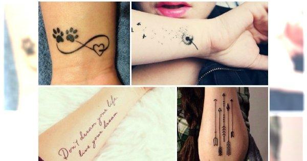Tatuaże Na Przedramię Supermodne Wzory