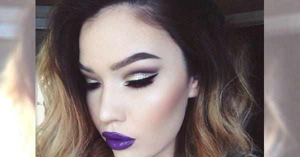 Prawdziwie mroźny make-up dla wielbicielek zimy