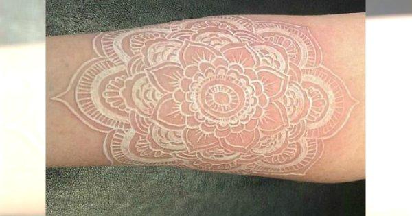 Biały Tatuaż Hit Czy Kit