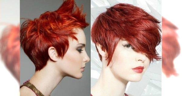 Krótka Fryzura Plus Rudy Kolor Aż 40 Modnych Propozycji Na