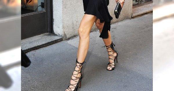 Wiązane sandałki - Super seksowne buty dla kobiet w każdym wieku