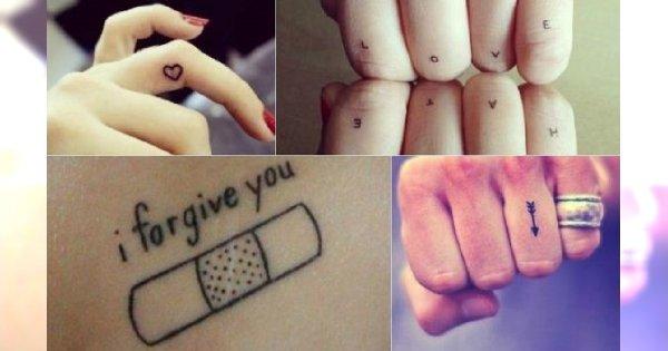 Mały Tatuaż 40 świetnych Wzorów Mikrotatuażu
