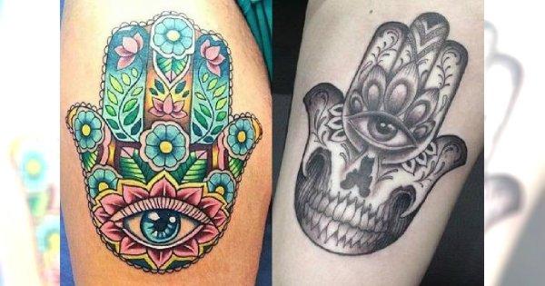 Tatuaż Hamsa Ręka Opatrzności Co Oznacza Zobaczcie Najlepsze Wzory