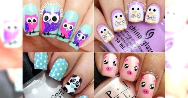 Animal manicure - zabawne motywy zwierzaków na Twoich paznokciach!