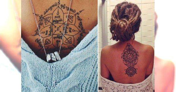 Mandala Co Oznacza Inspirujące Wzory Tatuażu Które Was Zauroczą