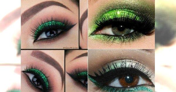 Zielony Makijaż Oczu Jak Okiełznać Ten Trudny Kolor